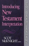 Introducing New Testament Interpretation (Guides to New Testament Exegesis) - Scot McKnight