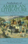 Anthology of American Literature Vol. II: Realism to the Present - David E. Smith