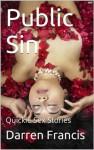 Public Sin (Quickie Sex Stories) - Darren Francis