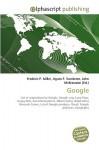 Google - Agnes F. Vandome, John McBrewster, Sam B Miller II