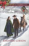 A Pony Express Christmas (Love Inspired Historical) - Rhonda Gibson