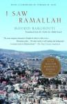 I Saw Ramallah - Mourid Barghouti, Ahdaf Soueif, Edward W. Said