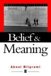 Belief and Meaning - Akeel Bilgrami
