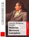 Wilhelm Meisters Lehrjahre (Grossdruck) - Johann Wolfgang von Goethe