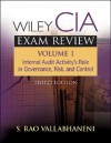 Wiley CIA Exam Review, Internal Audit Activity's Role in Governance, Risk, and Control (Wiley CIA Exam Review Series) - S. Rao Vallabhaneni