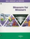 Britannica Mathematics in Context: Measure for Measure - Holt Rinehart