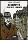 Der Richter und sein Henker. Comic. - Friedrich Dürrenmatt, Michael Blau