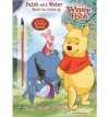 Disney Winnie the Pooh: Think, Think, Think Paint with Water Book to Color [With Paint Brush] - Dalmatian Press