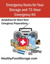 Emergency Items for Storage and Your 72-Hour Kit - Karen Lee