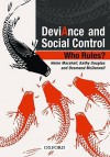 Deviance and Social Control: Who Rules? - Helen Marshall, Kathy Douglas, Desmond McDonnell