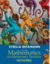 Mathematics for Elementary Teachers with Activities Plus NEW Skills Review MyMathLab with Pearson eText-- Access Card Package (4th Edition) - Sybilla Beckmann