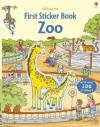 The Zoo (Usborne First Sticker Books) - Sam Taplin, Cecilia Johansson