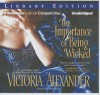 The Importance of Being Wicked - Victoria Alexander