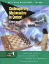 Contemporary Mathematics in Context: A Unified Approach, Course 1, Part B, Student Edition - McGraw-Hill Publishing, James T. Fey, Harold L. Schoen, Gail Burrill, Christian R. Hirsch, Ann E. Watkins, Beth E. Ritsema, Rebecca K. Walker, Mary Jo Messenger, Eric E. Hart