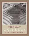 Thomas' Calculus Early Transcendentals (11th Edition) - George B. Thomas Jr., Maurice D. Weir, Joel R. Hass, Frank R. Giordano