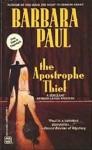 The Apostrophe Thief - Barbara Paul