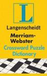 Merriam-Webster's Crossword Puzzle Dictionary - Langenscheidt