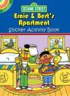 Sesame Street Classic Ernie & Bert's Apartment Sticker Activity Book - Sesame Street
