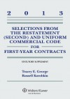 Select Restatement Uniform Comm Code First Year Contr 2013 Supp - George