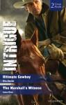 Intrigue Duo: Ultimate Cowboy / The Marshall's Witness - Rita Herron, Lena Diaz