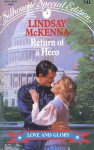 Return of a Hero (Silhouette Special Edition, No 541) - Lindsay McKenna