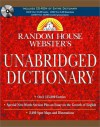 Random House Webster's Unabridged Dictionary Book & CD-ROM Set - Random House
