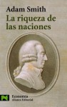 La riqueza de las naciones (COLECCION ECONOMIA) (El Libro De Bolsillo / the Pocket Book) (Spanish Edition) - Smith, Adam