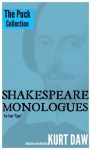 """10 Terrific Shakespeare Monologues for Children, Tween and Teen Boys: The """"Puck"""" Collection (Shakespeare Monologues for Your """"Type"""") - Kurt Daw, William Shakespeare"""