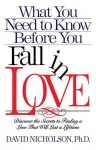 What You Need to Know Before You Fall in Love - David Nicholson