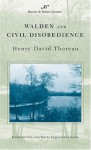 Walden and Civil Disobedience - Henry David Thoreau, Jonathan Levin