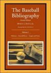 The Baseball Bibliography: Volume 1 - Myron J. Smith Jr., John Kuenster