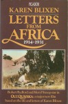Letters from Africa: 1914-1931 - Isak Dinesen, Anne Born