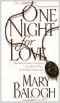 One Night for Love (Dell Historical Romance) - Mary Balogh