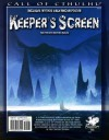 Call of Cthulhu Keeper's Screen (for 6th edition) - Chaosium, Charlie Krank, Christian Grussi, El Théo