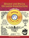 Holiday and Special Occasions Illustrations CD-ROM and Book - Dover Publications Inc.
