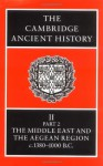The Cambridge Ancient History, Volume 2, Part 2: The Middle East & the Aegean Region c.1380-1000 BC - I.E.S. Edwards, C.J. Gadd, Nicholas Geoffrey Lemprière Hammond, E. Sollberger