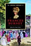 The Cambridge Companion to Frances Burney - Peter Sabor