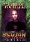 Brujah Antitribu Starter Deck [With Rulebook] - White Wolf Publishing