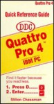 Quick Reference Guide: Quattro Pro 4 - DDC Publishing