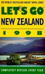 Let's Go New Zealand 1998 - Let's Go Inc.