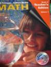 Math Grade 4 Teacher's Edition + Cd-rom - Randall I. Charles