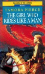 The Girl Who Rides Like a Man - Tamora Pierce