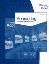 Working Papers For Albrecht/Stice/Stice/Swain's Accounting: Concepts And Applications - Earl Kay Stice, James D. Stice, Monte R. Swain