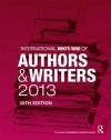 International Who's Who of Authors and Writers 2013 - Europa Publications