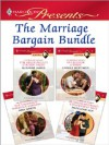 The Marriage Bargain Bundle - Carole Mortimer, Abby Green, Susanne James, Madeleine Ker