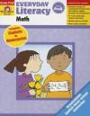 Everyday Literacy: Math, Grade Prek - Evan-Moor Educational Publishers