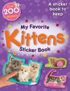Stickers: My Favorite Kittens Sticker Book - NOT A BOOK