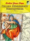 Color Your Own Italian Renaissance Masterpieces - Marty Noble