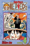 One Piece, Vol. 4: The Black Cat Pirates - Eiichiro Oda