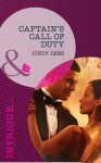 Captain's Call of Duty (Mills & Boon Intrigue) (The Kelley Legacy - Book 6) - Cindy Dees